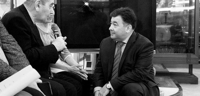 2017 г. Презентация книги Виктора Юзефовича Царь Давид. Фото - Светлана Мурси-Гудёж.